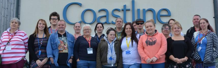 Coastline Homeless Service partners and volunteers