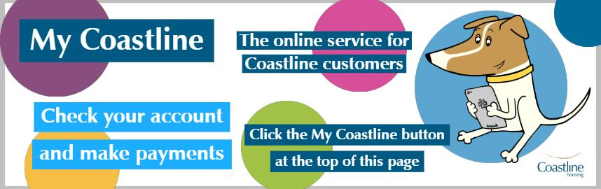 Check accounts and make payments using My Coastline