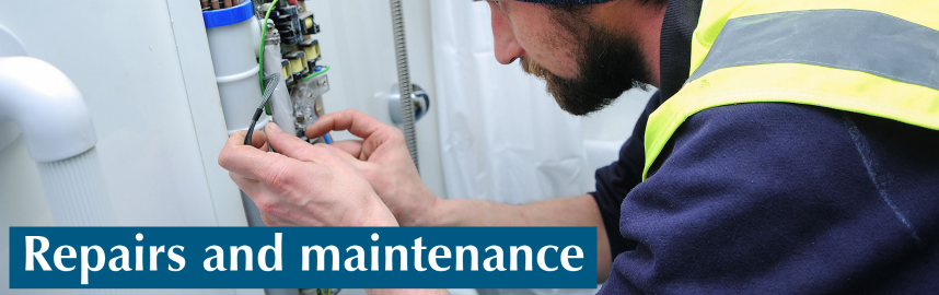 Repairs and maintenance web banner