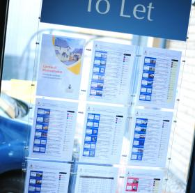 To let notices